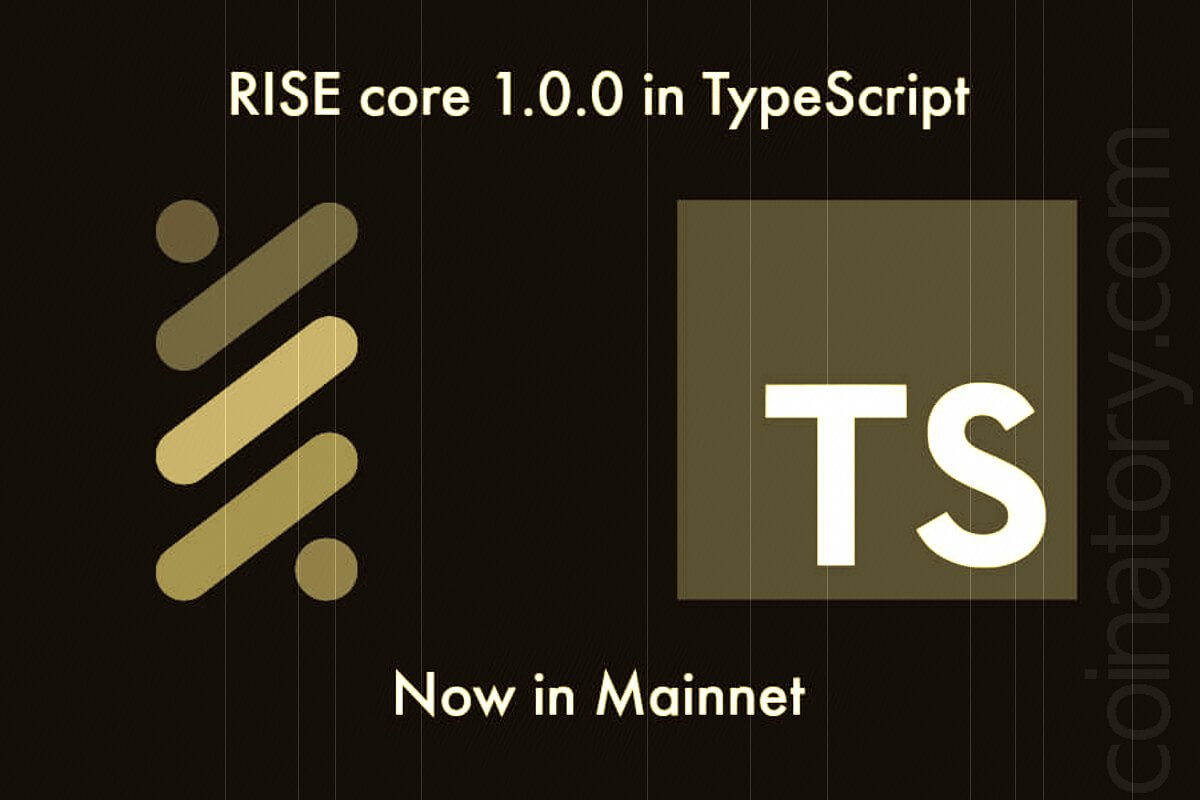 RISE accelerates blockchain with TypeScript core launch to mainnet