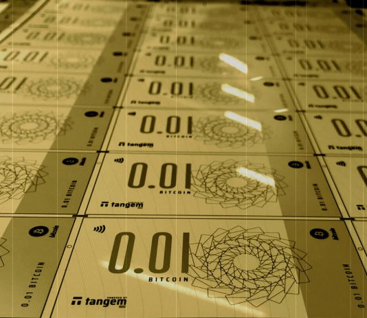 Reverse Evolution Tangem has developed bitcoin banknotes