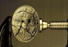 Cryptocurrencies under pressure