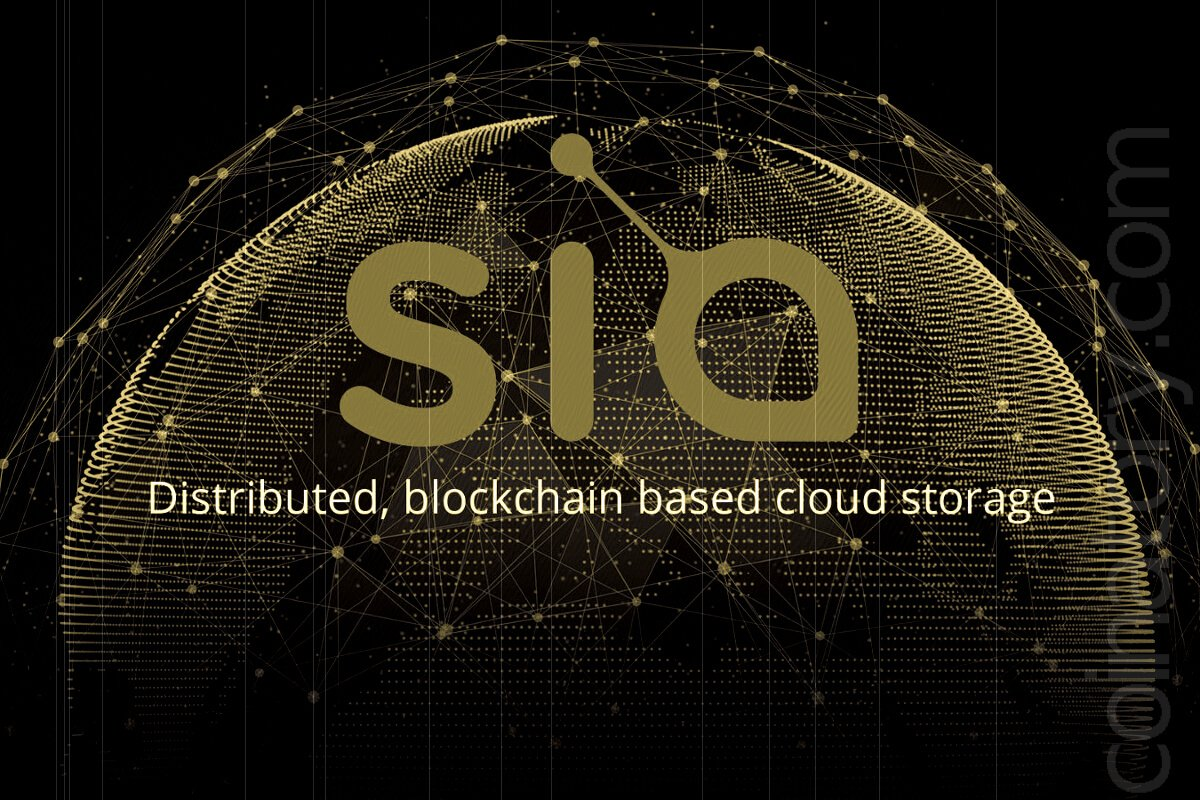 SiaCoin (SC) - A Decentralized Cloud Storage Network