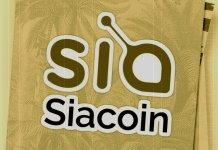 Siacoin is feeling great