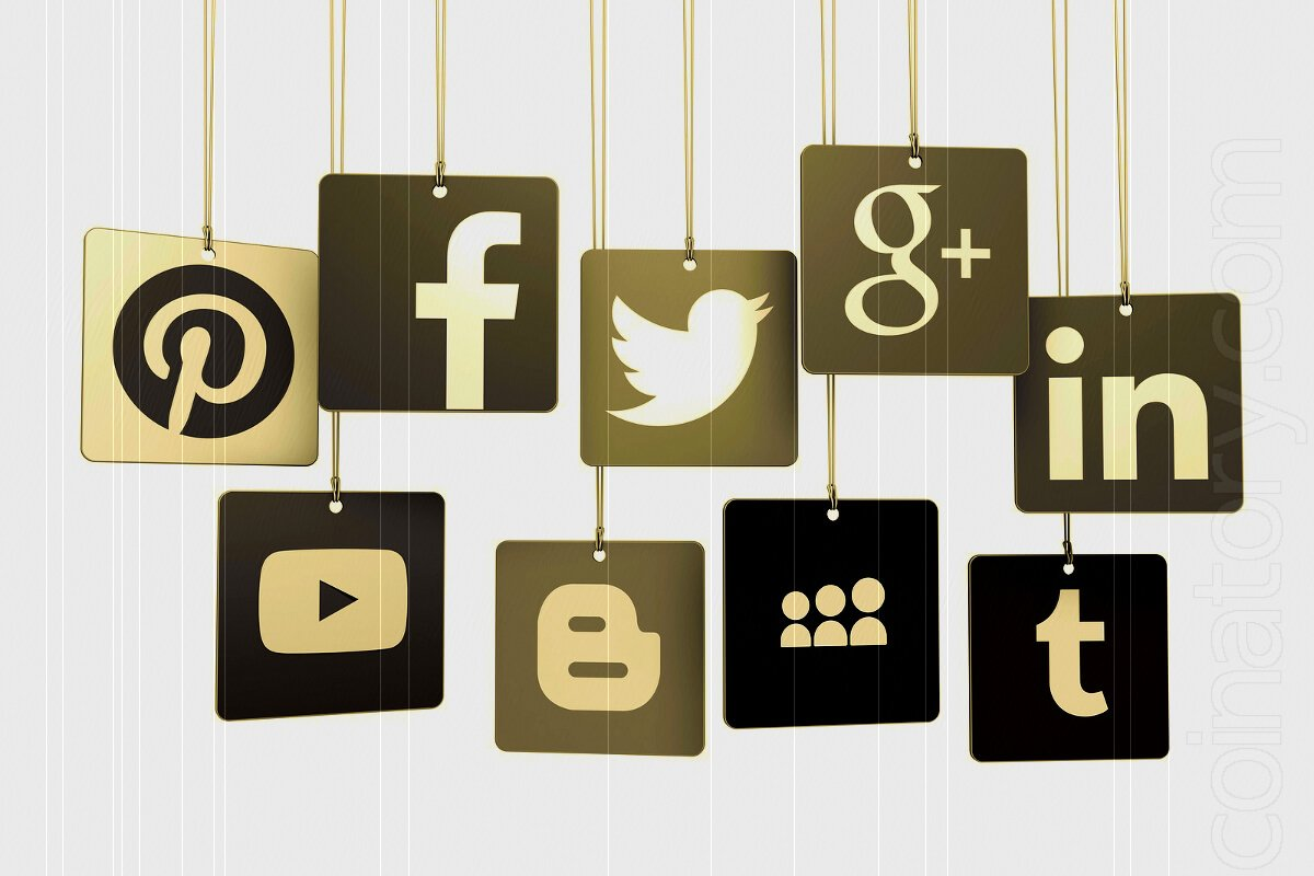 Social networks influence bitcoin price