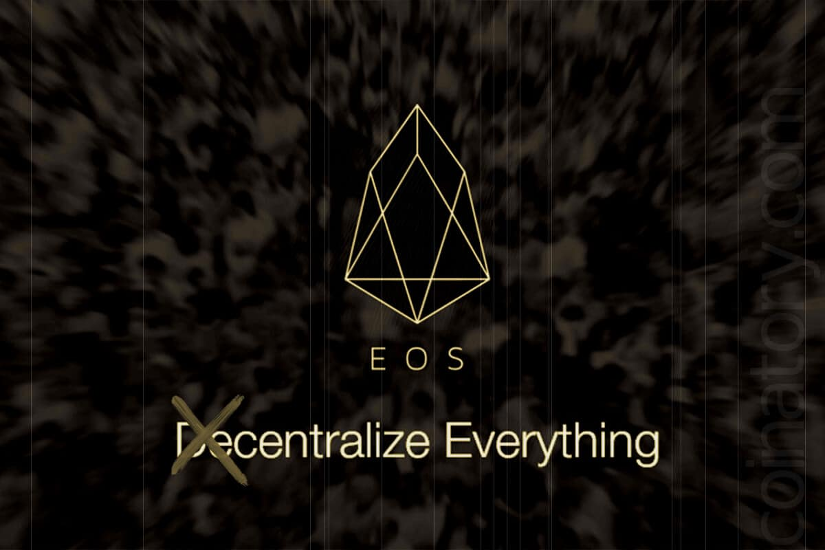 EOS: centralize everything!