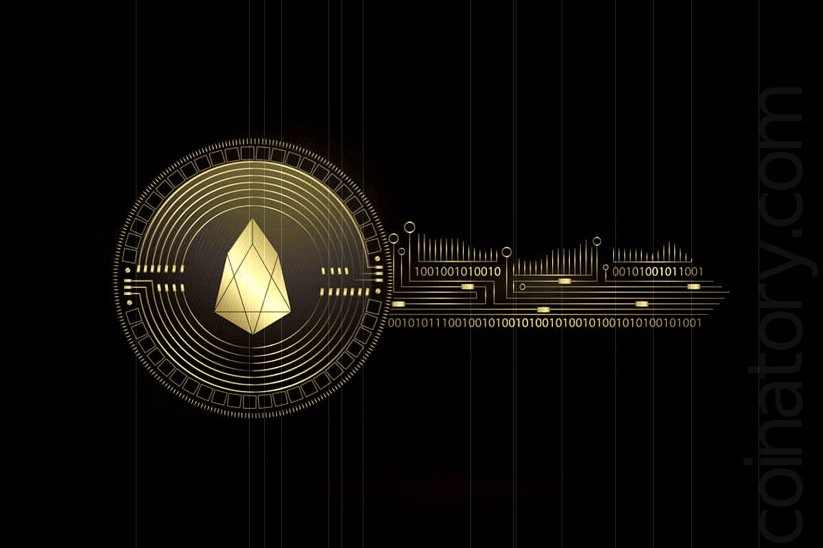 The EOS network allows up to 1200 tps