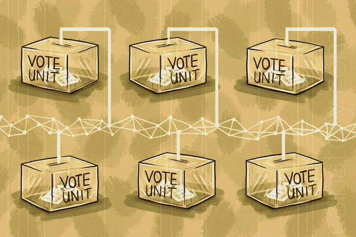 Blockchain for a perfect electoral system