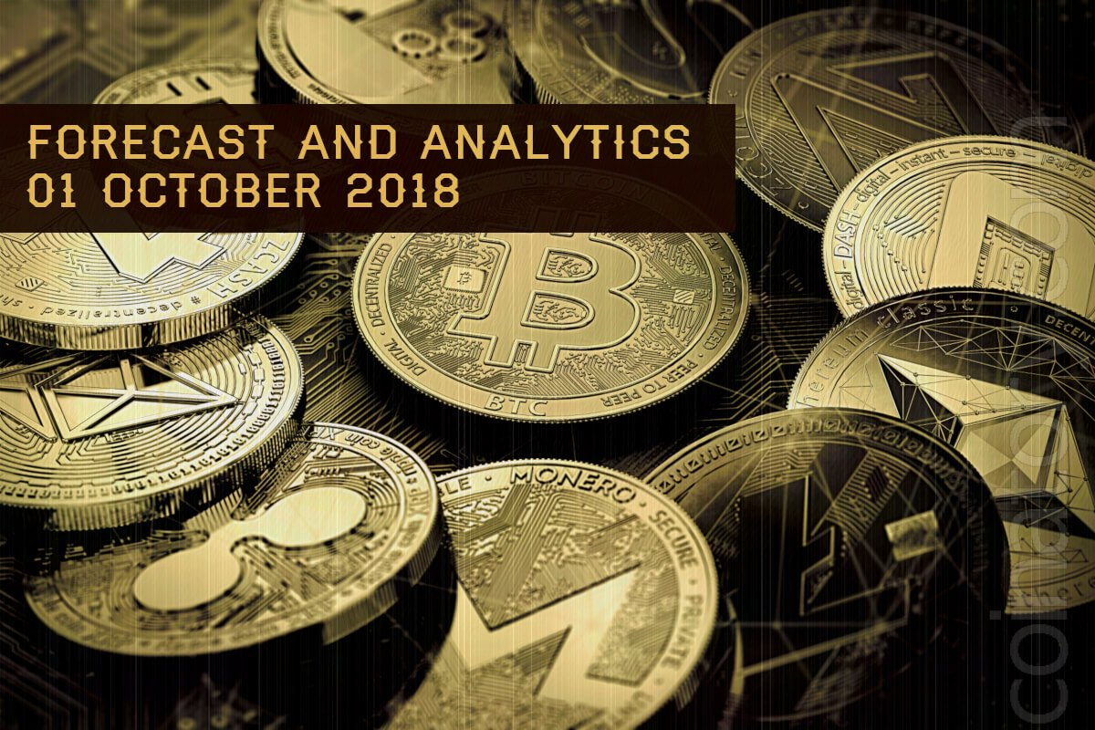 Forecast and analytics coinatory 01 October 2018