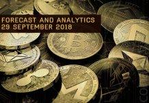 Forecast and analytics coinatory 29 September 2018