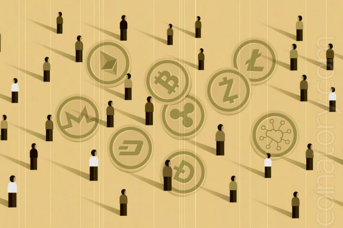 What coins have users?