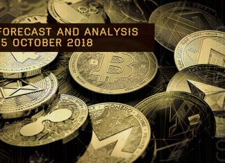 Coinatory cryptocurrency prices analysis and forecast 15 October 2018