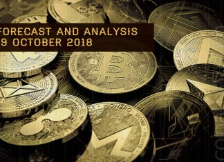 Cryptocurrency prices analysis and forecast – 19 October 2018