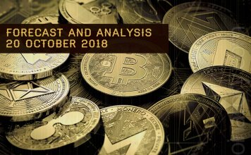 Cryptocurrency prices analysis and forecast – 20 October 2018
