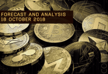 Cryptocurrency prices analysis and forecast - 18 October 2018