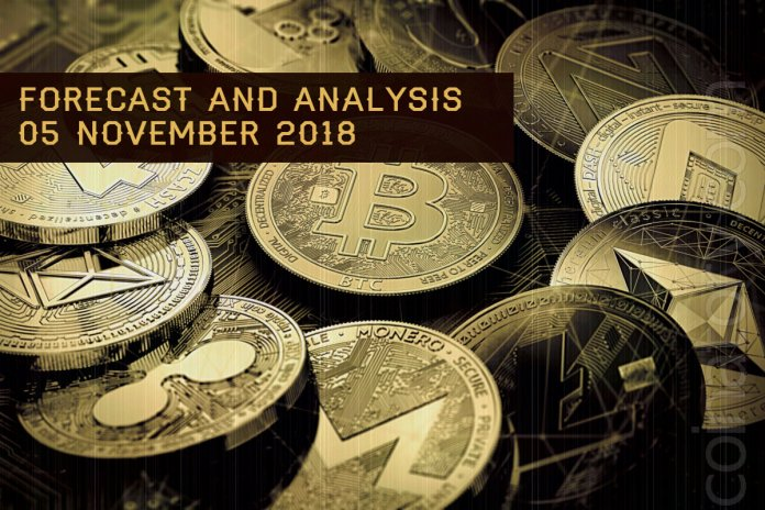 Cryptocurrency prices analysis and forecast – 5 November 2018