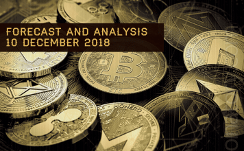 Cryptocurrency prices analysis and forecast – 10 Desember 2018