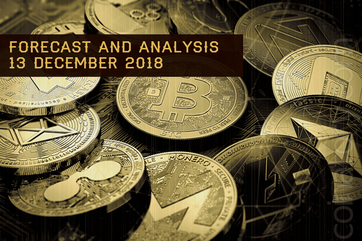 Cryptocurrency prices analysis and forecast – 13 Desember 2018