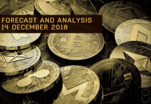 Cryptocurrency prices analysis and forecast – 14 Desember 2018