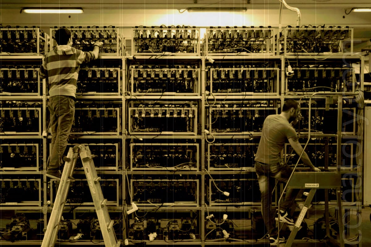 The complexity of Bitcoin mining has decreased by over 7% since yesterday