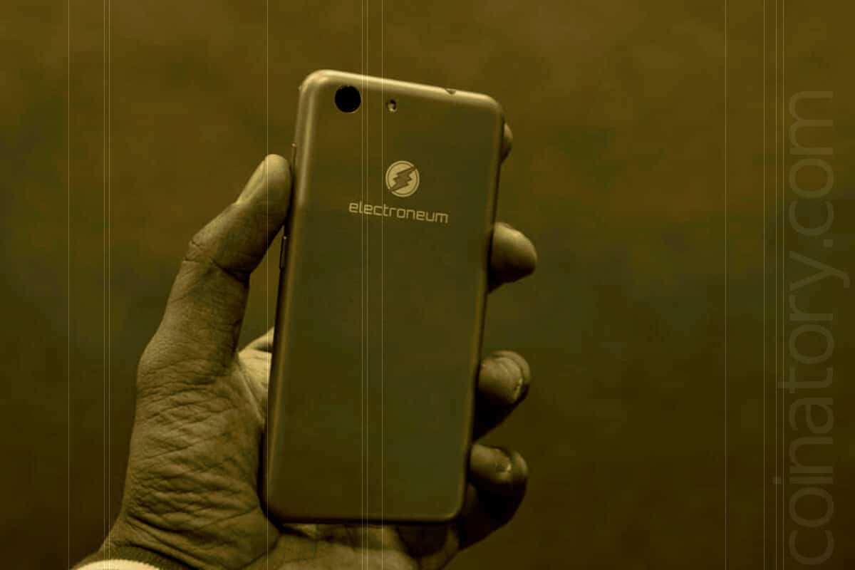 Electroneum launched a smartphone!
