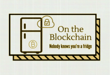 The long-awaited... blockchain fridge