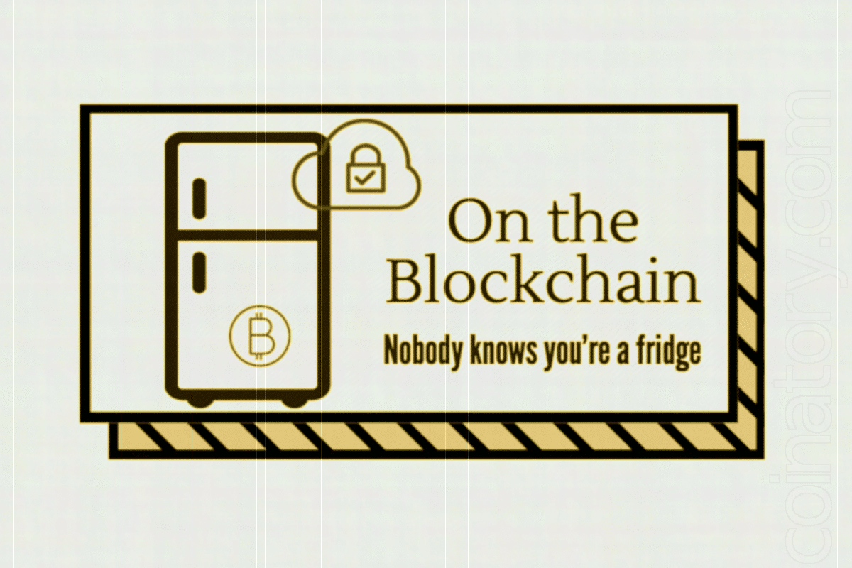 The long-awaited... blockchain fridge